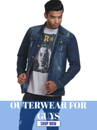 OUTERWEAR FOR GUYS
