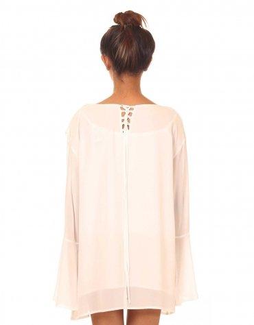 Bell Sleeved Dress