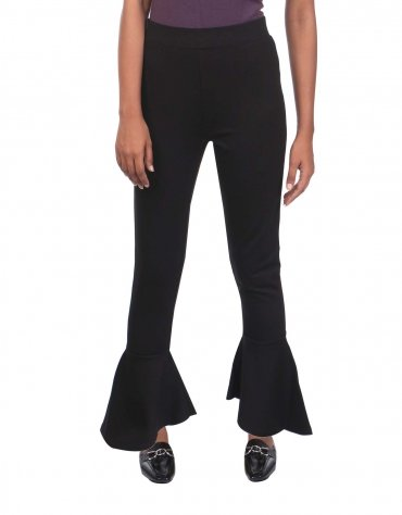 Long Pants with Bell Hems
