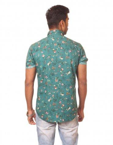 Floral Short Sleeved Shirt