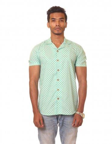 Printed Short Sleeved Shirt