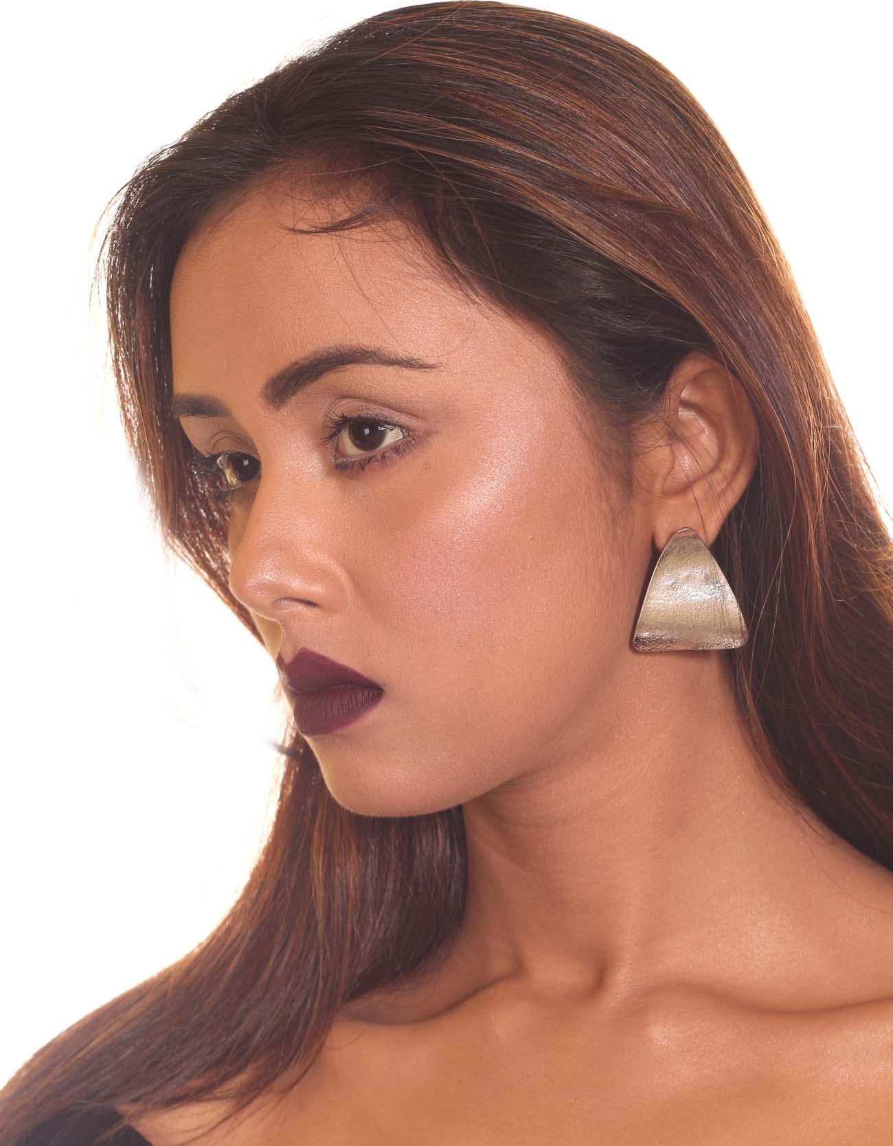 Triangle Shaped Earrings