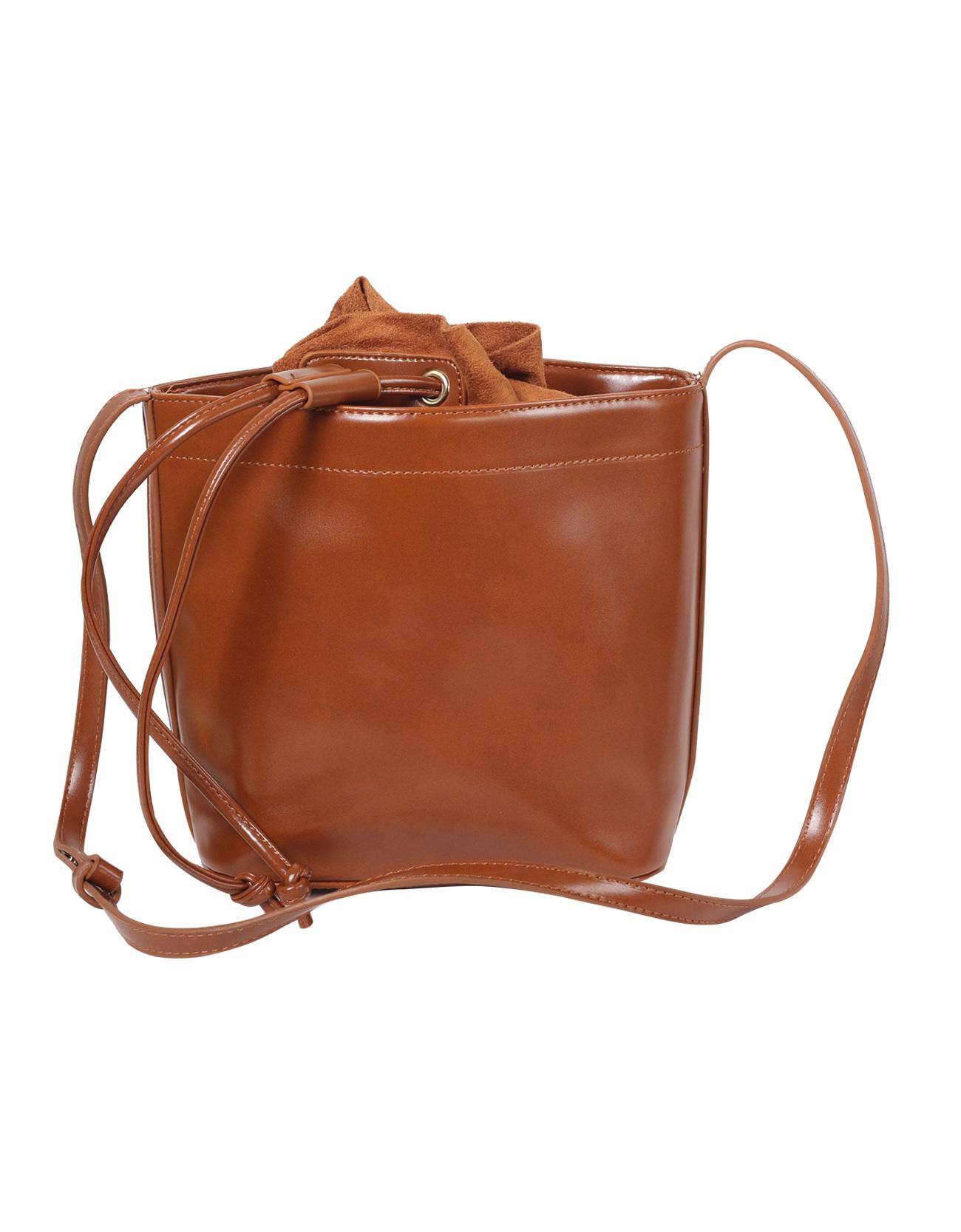 PU Leather Bucket Bag