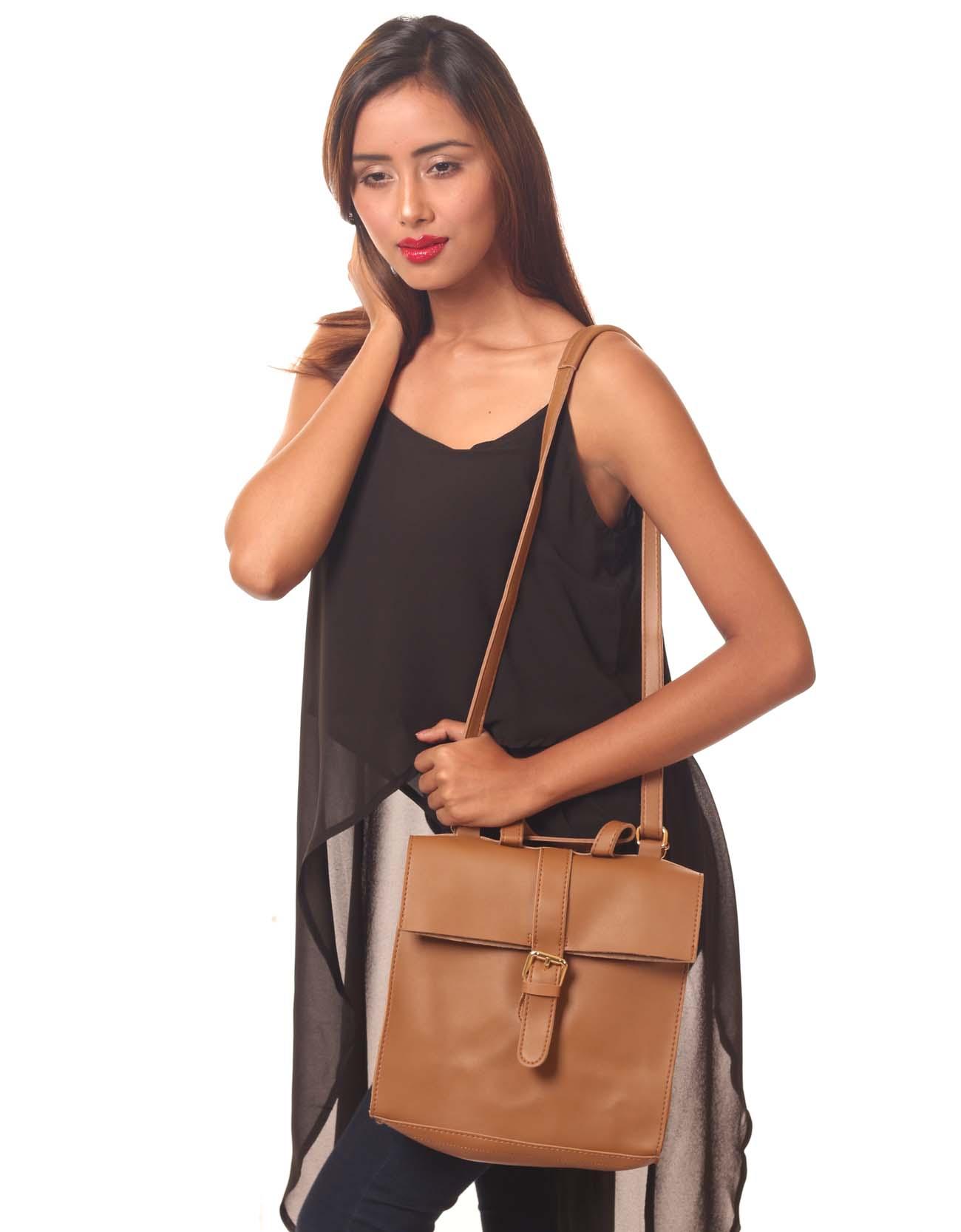 PU Leather Mini Messenger Bag