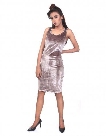Velvet Shift Dress