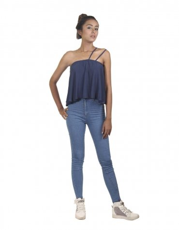 One Sided Dual Strapped Top