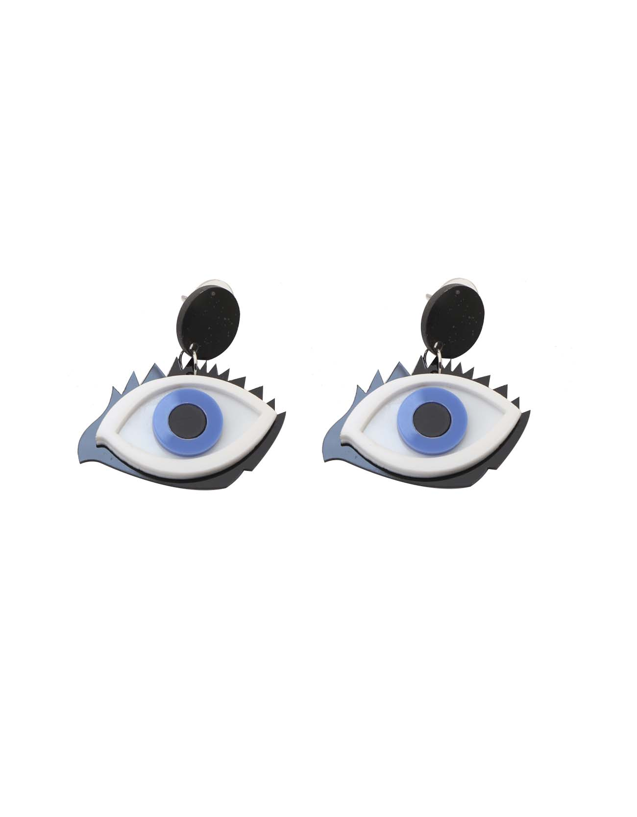 Eye Shaped Earrings