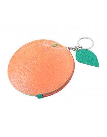 Orange Coin Pouch