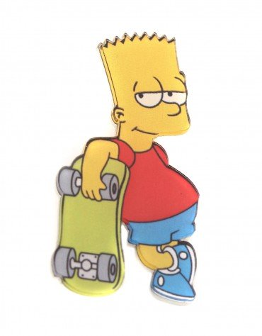 Bart Simpson Patch Pin