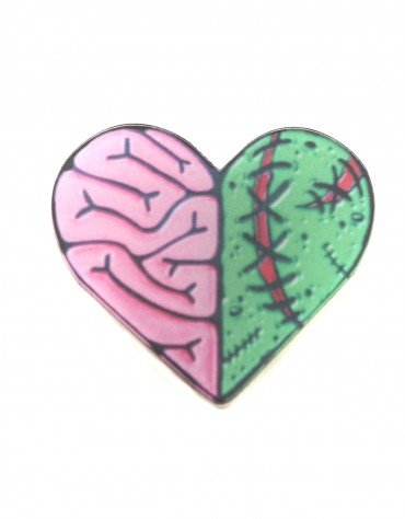 Frankenstein's' Heart Pin