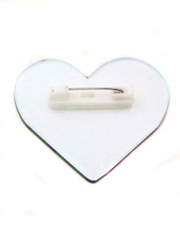 Frankenstein's' Heart Pin