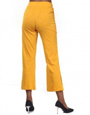 Side Slit Slinky Trousers
