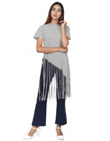 Fringe Long Top