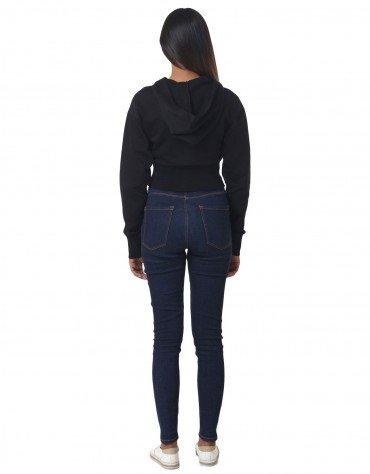 Contrast Crop Sweatshirt
