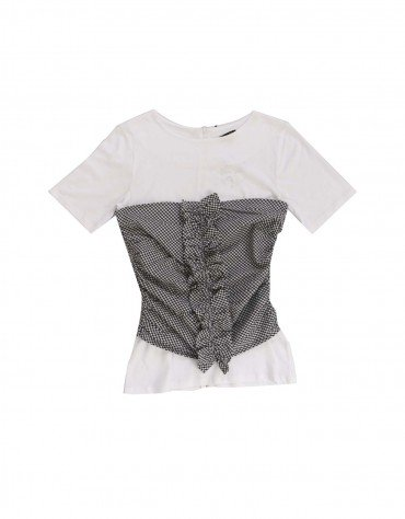 Ruched Corset Top