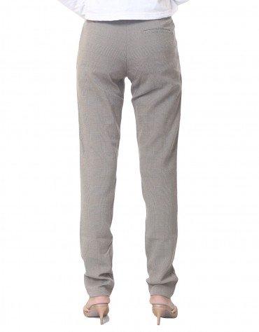 Checkered Casual Pants
