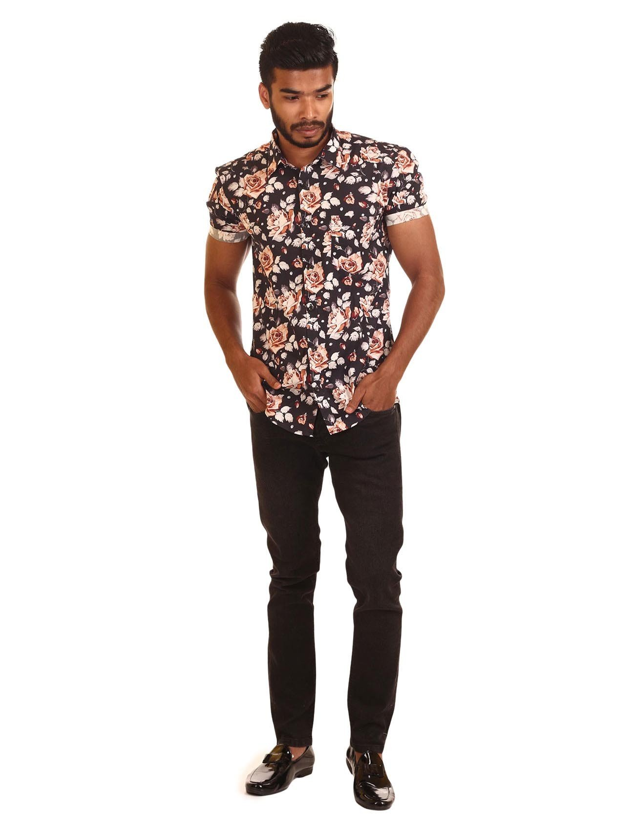 Rose Printed Shirt