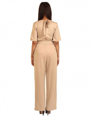 Statement Wrap Jumpsuit
