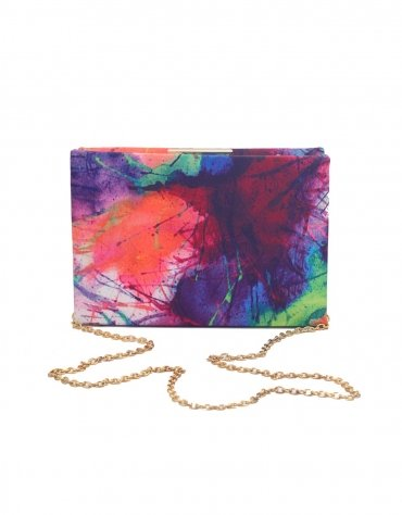 Painted Box Clutch