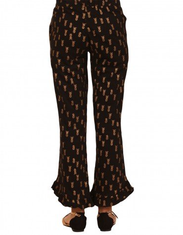 Pineapple Print Pants