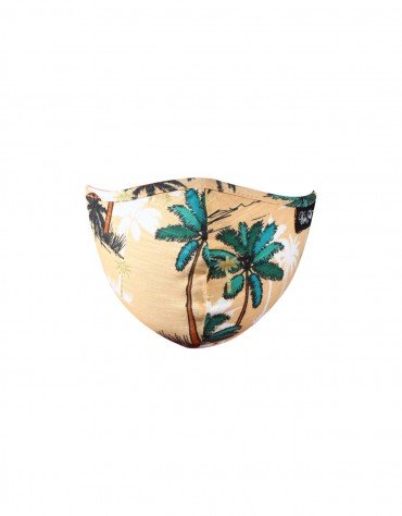 Tropical Print Face Covering