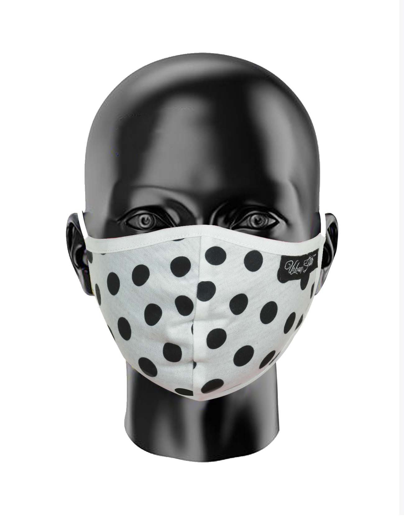 Polka Dot Print FaceCovering