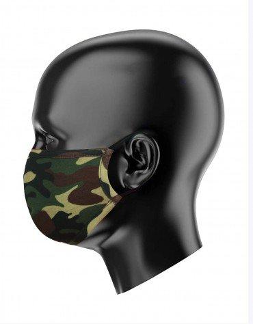Camo Print Face Covering