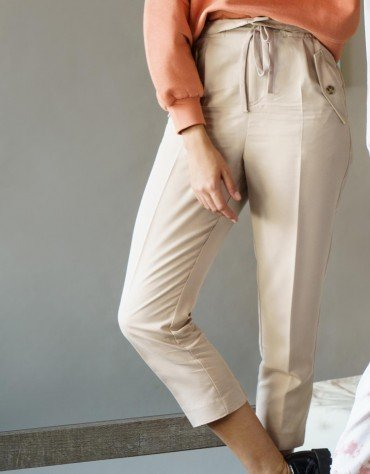 Paper Bag Drawstring Chinos