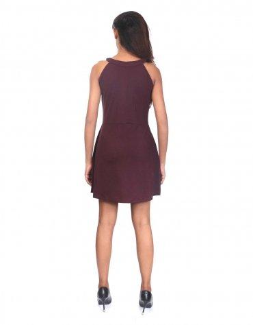 Stretch Knit Skater Dress